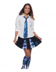 Harry Potter™ Ravenclaw™-Krawatte blau-silber