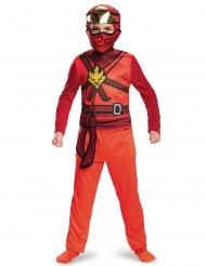 Kai Ninjago- Lego™-Kostüm für Kinder rot-braun-gold