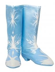 Disney Frozen2™ Elsa-Stiefel Kostüm-Zubehör für Kinder blau-weiss