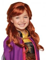 Frozen™ Anna-Perücke für Kinder Disney-Zubehör orange