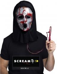 Blutige Scream™-Maske für Erwachsene Halloween