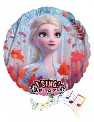 Frozen2™-Folienballon mit Sound Partyzubehör bunt 71 cm