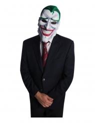 Artikulierte Joker™-Maske Bösewicht-Accessoire weiss-grün