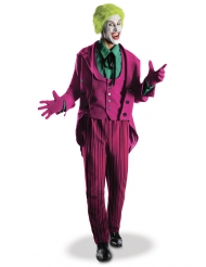 Joker™-Kostüm hochwertige-Verkleidung für Herren Halloween violett-grün