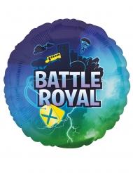 Battle Royale Party-Luftballon Videospiel-Geburtstag blau 43 cm