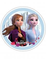 Disney Frozen2™-Tortenaufleger für Geburtstagstorten bunt 20,5 cm 7g