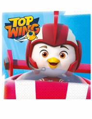 Top Wing™-Servietten Tischdekoration Partydeko 16 Stück bunt 33 x 33 cm