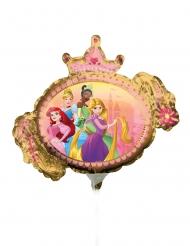 Disney™-Prinzessin-Luftballon beidseitig Partydeko bunt 23 cm
