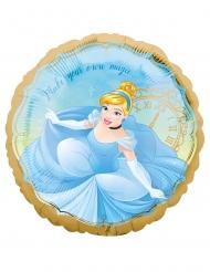 Disney™-Cinderella Folienballon für Kinder Partyzubehör bunt 43 cm
