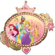 Disney™-Folienballon Prinzessinnen Party-Deko bunt 86 x 81 cm