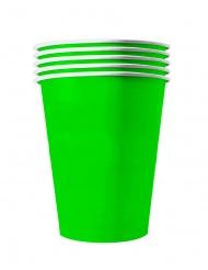 Pappbecher groß Partyzubehör 20 Stück grün 53 cl