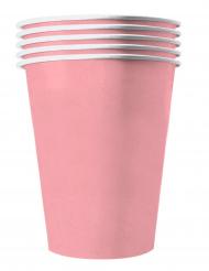 Pappbecher Recycelbar Partyzubehör 20 Stück rosa 530 ml