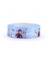 Frozen2™-Deko-Stoffband mit Motiv hellblau 20 m x 4 cm