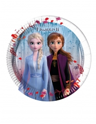 Disney Frozen2™-Pappteller Tischzubehör 8 Stück bunt 20 cm