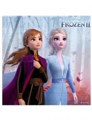 16 Elsa Frozen II Servietten Die Eiskönigin™ 25 x 25 cm