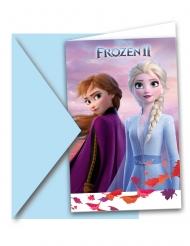 Frozen2™-Geburtstags-Einladungen 12-teilig bunt 14x 9cm