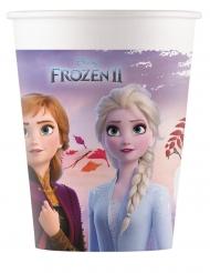 Frozen2™-Pappbecher Elsa und Anna™ Partyzubehör 8 stück bunt 200ml