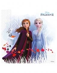 Frozen2™-Papierservietten Disney™-Kindergeburtstag 20 Stück bunt 33 x 33 cm