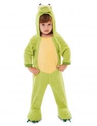 Frosch-Kostüm für Kinder Tier-Overall für Karneval-Kostüme grün
