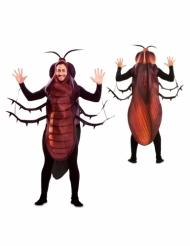 Humorvolles Kakerlaken-Kostüm für Herren Tierkostüm schwarz-braun