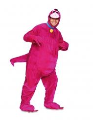 Dino-Kostüm für Erwachsene Faschingskostüm lila-blau