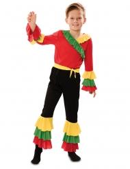 Rumba-Tänzer Kostüm für Jungen Faschings-Verkleidung bunt
