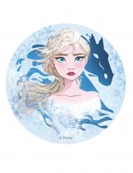 Disney Frozen2™-Kuchenplatte für Kindergeburtstage bunt 20cm