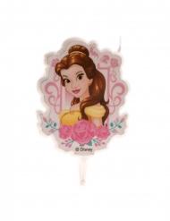 Disney™-Belle Geburtstagskerze für Kinder Torten-Deko bunt 7,5 cm