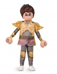 Marla™-Kinderkostüm Playmobil™ Fasching braun-goldfarben