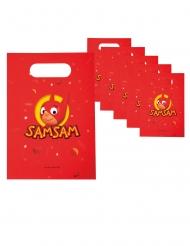 Sam Sam™-Geschenktüten Kinder-Überraschung 6 Stück rot-gelb 23 x16 cm