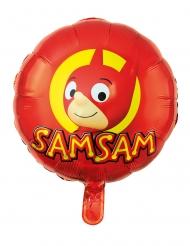 SamSam™-Ballon Partyzubehör Kindergeburtstag rot-gelb 45 cm
