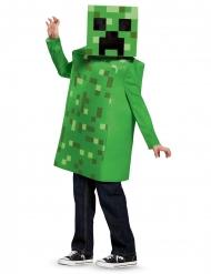 Schlingpflanze Wet Minecraft™-Kostüm für Kinder Videospielfigur grün-schwarz