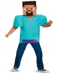 Steve Minecraft™-Kostüm für Kinder Videospielfigur türkis