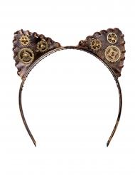 Steampunk-Haarreif Kostüm-Accessoire für Erwachsene