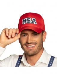 Cappy USA-Kopfbedeckung für Erwachsene Accessoire rot-blau