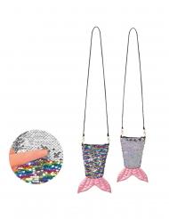 Meerjungfrauen-Tasche mit Wendepailletten bunt