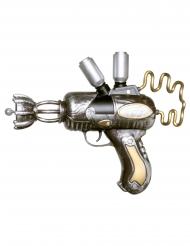 Steampunk Pistole Kostümzubehör Kunststoff 25 cm