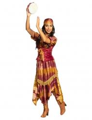 Nomaden-Kostüm für Damen Karnevals-Verkleidung bunt