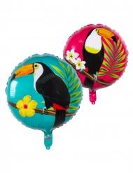 Tukan-Luftballon Partydeko bunt 45 cm