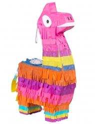 Lama-Piñata Kinder-Geburtstagsdeko bunt 23x13 cm