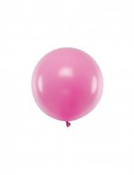Riesengroßer Latex-Ballon Partyzubehör fuchsia 60 cm