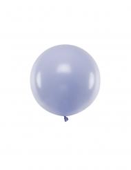 Großer Latexballon für jegliche Festlichkeiten pastellfarben violett 60 cm