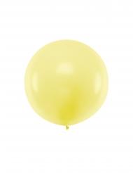 Übergroßer Latex-Ballon für Feiern jeglicher Art gelb 1 m