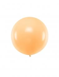 Übergroßer Ballon aus Latex Party-Zubehör orangefarben 1 m