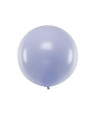 Großer Ballon Partydekoration Raumdekoration pastellfarben violett 1 m