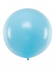 Übergroßer Latexballon Partydekoration blau 1 m