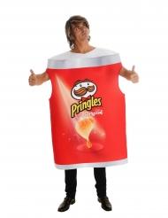 Pringles™-Kostüm offizielle Verkleidung für Erwachsene rot-weiss