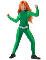 Spionage-Kostüm für Mädchen Faschings-Verkleidung grün