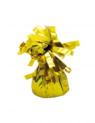 Ballon-Gewichte Beschwerer für Luftballons 6 Stück goldfarben