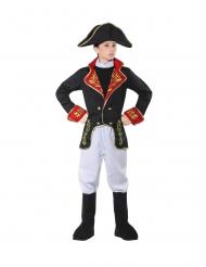 Napoleon-Kinderkostüm französischer Kaiser Jungen-Verkleidung bunt